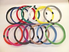 18 gauge GXL wire - Individual Color and Size Options