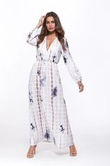 Melissa Boho Long Maxi Dress