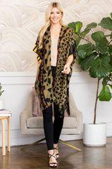 Leopard Multi Kimono