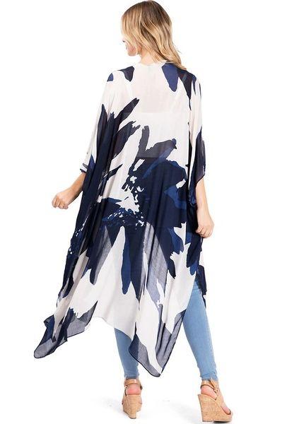 Broad Stroke Kimono