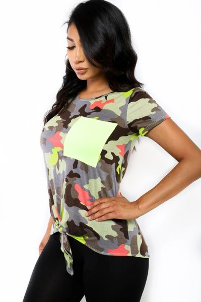Flash Camo Top