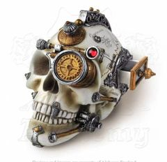 Steampunk Skull by Alchemy
