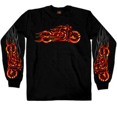Bike with Flames