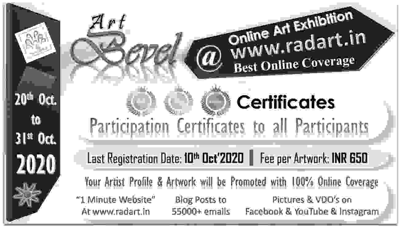 Radart Online Art Exhibition , A Bevel