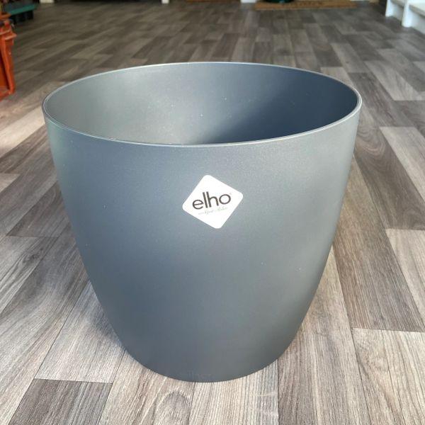 Plastic Grey Plant Pot - 25cm Diameter