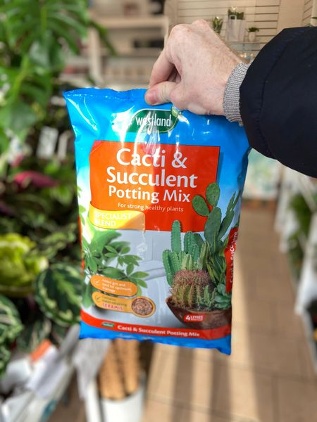 Cactus and Succulent Potting Mix Soil - 4 Litre Bag