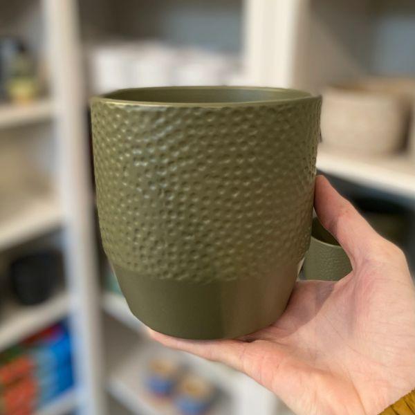 KHAKI GREEN - Ceramic Pot 12cm