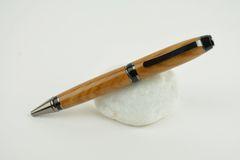 St John Cigar ballpoint pen, elm, gun metal