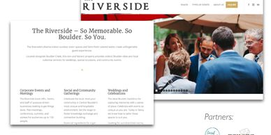 New Riverside website