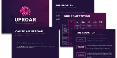 Uproar pitch deck