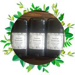 Natural Deodorant / Spearmint, Lemon, And Bergamot