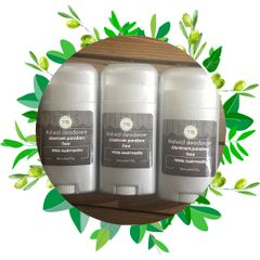 Natural Deodorant / White Musk And Vanilla