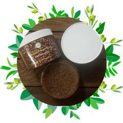 Emulsified Sugar Scrub / Dark Chocolate