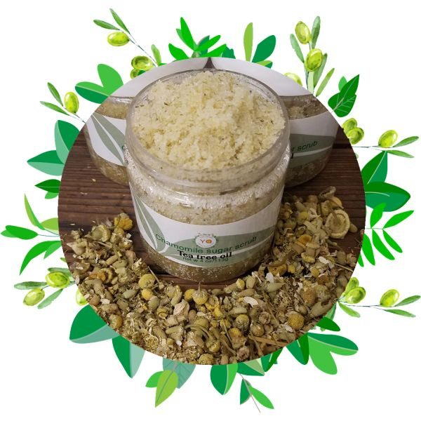 Chamomile & Tea Tree Oil Face Scrub