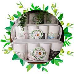 Small Size Set of The Four Naturally Fragranced Deodorants
