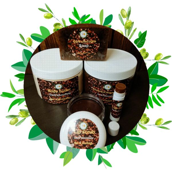 Gift Box 5 Pieces Set For Men and Women/ Dark Chocholate