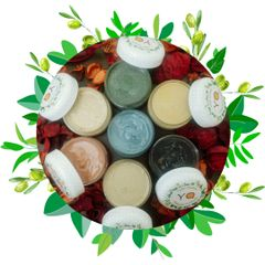 Small Size Set of The Seven Natural Face Masks