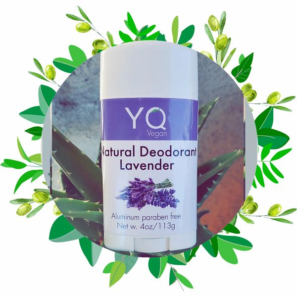 Natural Deodorant / Lavender And Orchids