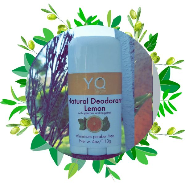 Natural Deodorant / Spearmint, Lemon, And Bergamot