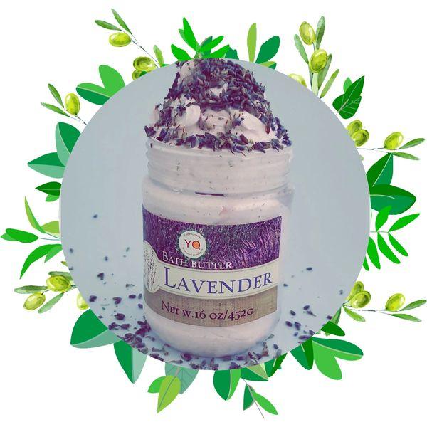 Lavender & Black Seed Bath Butter