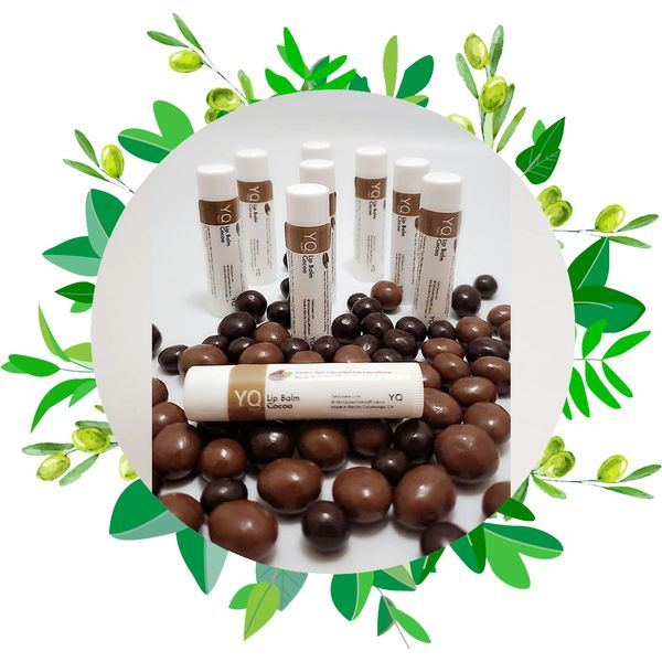 dark chocolate lip balm