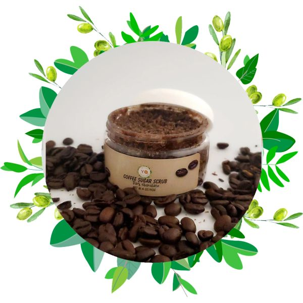 Coffee Sugar Scrub / Coffee And Dark Chocolate