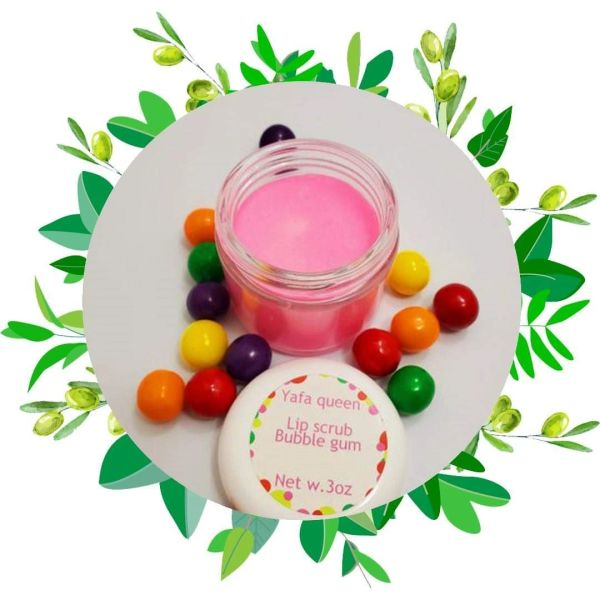 bubble gum lip scrub