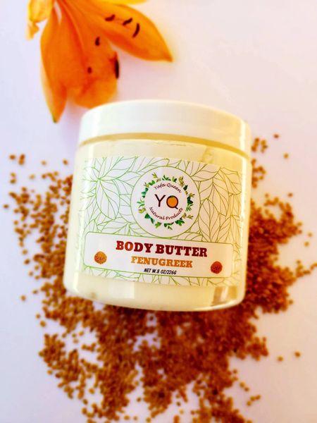 Fenugreek Body Butter