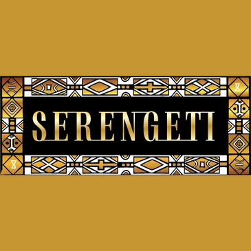 Logo for Serengeti, our sister restaurant, an upscale steakhouse