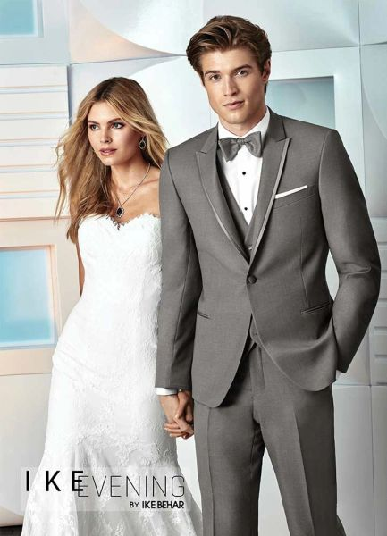 IKE Behar Evening Grey 'Chelsea' Tuxedo C1036
