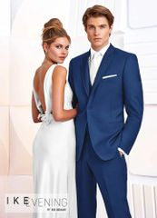 IKE Behar Evening Cobalt Blue 'Greenwich' Tuxedo C1035