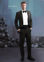 Allure Men Granite Grey 'Brunswick' Tuxedo C1032