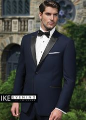 IKE Behar Evening Navy 'Blake' Tuxedo C1015