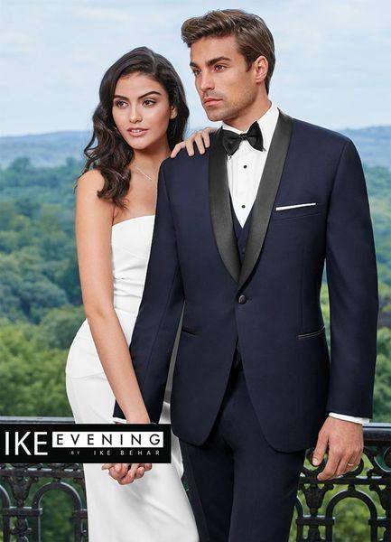 IKE Behar Evening Navy 'Hudson 'Tuxedo C1019