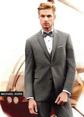 Michael Kors Grey 'Affection' Tuxedo C1013