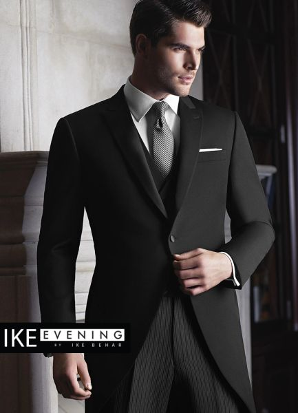 IKE Behar Evening Black 'Wyatt' Cutaway C1010