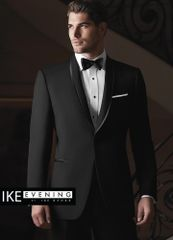 IKE Behar Evening Black 'Waverly' Tuxedo C1008