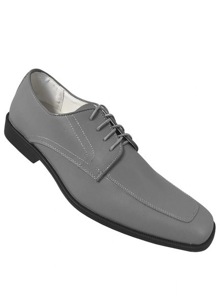 Allure Men Cement Grey Matte Shoe AM43
