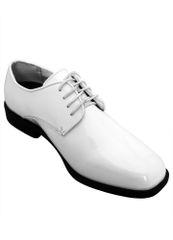 Bravo White Tux Shoe O3030
