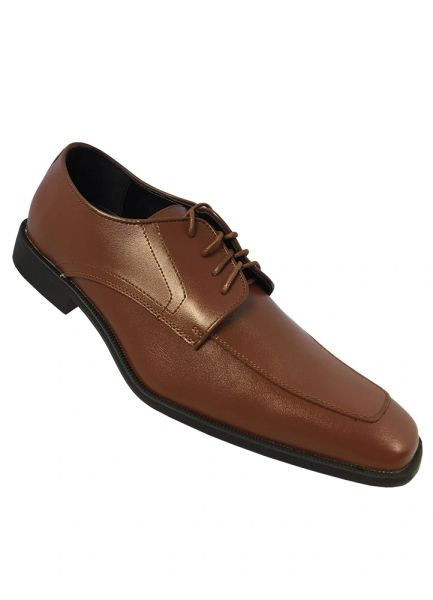 Allure Men Cognac Brown Matte Shoe OAM20