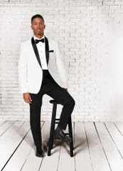 Select Formawear White 'Clayton' Tuxedo C1031