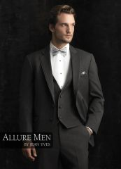 Allure Men Steel Grey 'Bartlett' Tuxedo C995