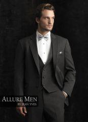 Allure Men Steel Grey 'Bartlett' Tuxedo C995