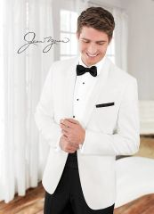 Jean Yves White 'Modern Essential' Dinner Jacket C1030