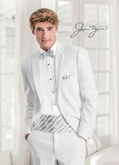 Jean Yves White 'Modern Essential' Tuxedo C1022