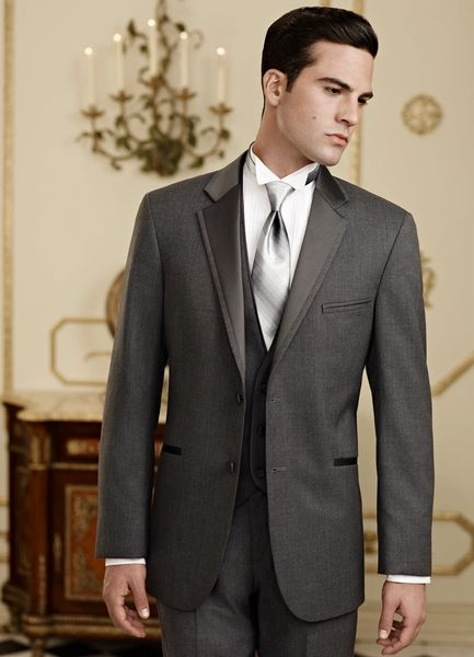 Jean Yves Steel Grey 'Twilight' tuxedo C979