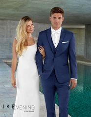 IKE BEHAR EVENING DUSK BLUE 'LANE' TUXEDO C1041