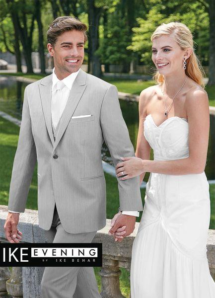 IKE Behar Evening Light Grey 'Grenada' Suit N020