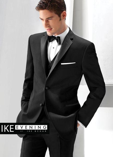 IKE Behar Evening black 'Parker' slim fit tuxedo N000