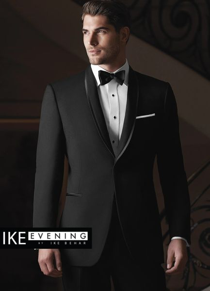 IKE Behar Evening Black 'Waverly' Tuxedo N008